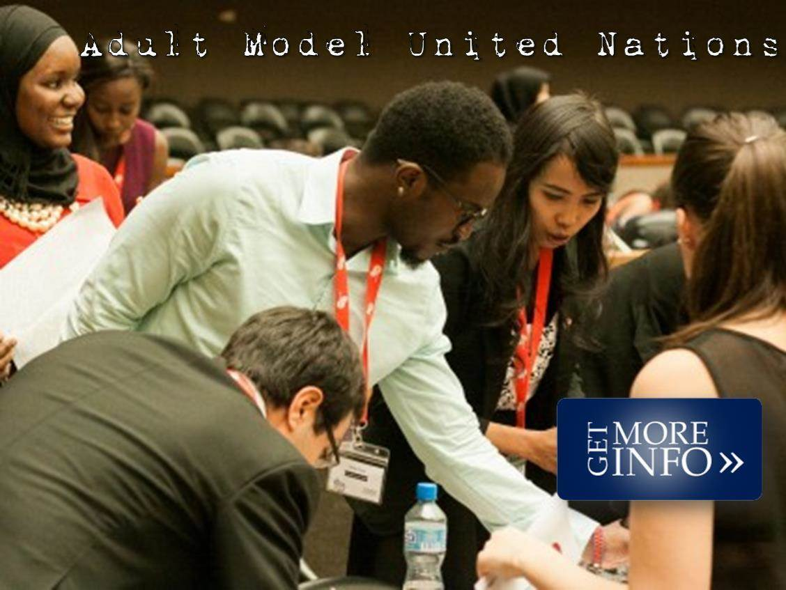 Adult Model UN Conference