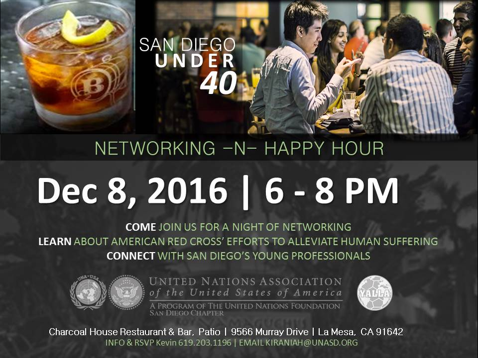 Happy Hour With PurposeSan Diego Under 40