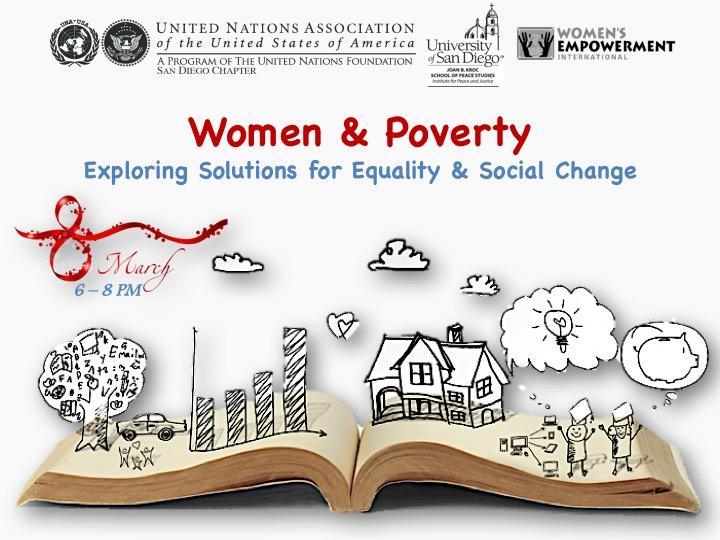 International Women's Day CelebrationWomen & Poverty